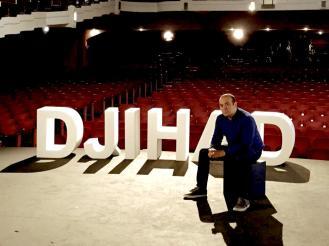Séance photo au théâtre Saint-Michel (Bruxelles)